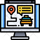 Booking Online Cab Booking Cab Booking Icon