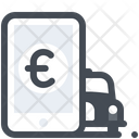 Online Cab Payment Icon