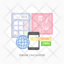 Online Calculator Math Icon