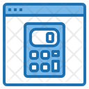 Website Calculator Tools Account Icon