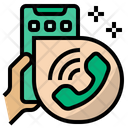 Online Call Call Phone Icon