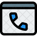 Online Call Online Phone Video Call Icon