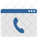 Online Call Phone Icon