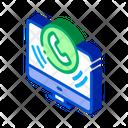Computer Phone Internet Icon