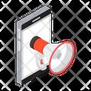 Online Campaign Social Marketing Publicity Icon