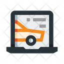 Online Car Book Icon