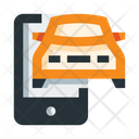 Online Car Booking Icon