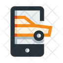Online Car Booking Cab App Taxi Application Icon