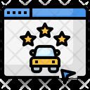Online Car Rental Icon