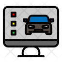 Online Car Service Icon