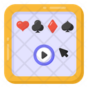 Video Game Online Card Game Card Game Icon