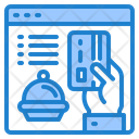 Pay Delivery Food Icon