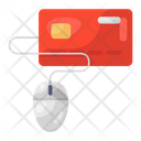 Online Card Transaction Payment Gateway Internet Banking Icon