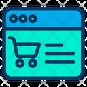 Cart Ecommerce Online Icon