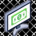 Online Cash Digital Cash Ebanking Icon