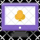 Online Poker Online Casino Digital Casino Icon