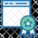Certificate Online Certificate Achievement Icon