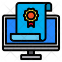 Graduate Monitor Online Icon