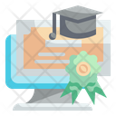 Online Certificate Icon