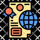 Diploma Digital Learning Icon