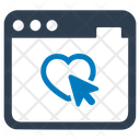 Charity Online Donation Icon