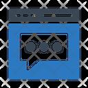 Bubble Message Communication Icon