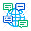 Online Chat Voip Icon