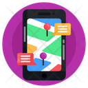Chat Encryption Online Chat Location Mobile Messages Icon