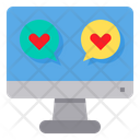 Online Chatting Icon