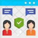 Online Chatting Icon