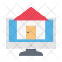 Online Realestate House Icon