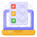 Todo List Online Checklist Online List Icon