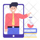 Online Chemistry Teacher Icon
