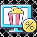 Online Cinema Subscription Icon