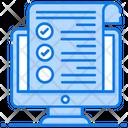 Online Claim Medical Claim Medical File Icon