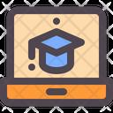 Laptop School Online Icon