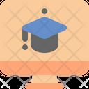 Computer School Online Icon