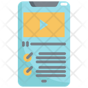 Mobile Lesson Video Icon