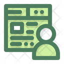 Online Class Online Lecture Online Training Icon