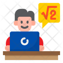 Online Class Match Class Elearning Icon
