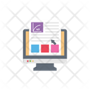Online Class Class Education Icon