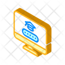Online Class Access Icon