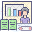 Online Class Room Online Class Online Training Icon