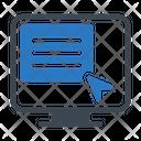 Online Click Icon
