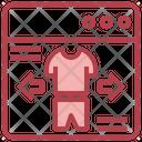 Online Clothe Icon