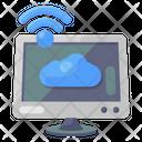 Online Cloud Cloud Application Internet Cloud Icon