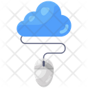 Online Cloud Cloud Storage Cloud Technology Icon