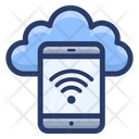 Online Cloud Device Icon