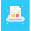 Online Cloud File Icon