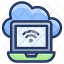 Online Cloud Network Icon